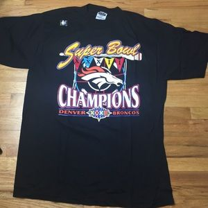 Vintage Denver Broncos Super Bowl Champs Tee